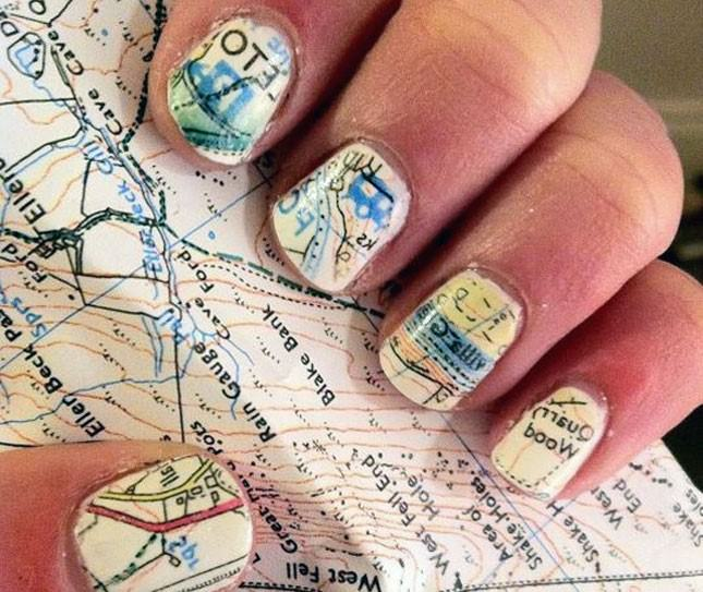 map effect nail