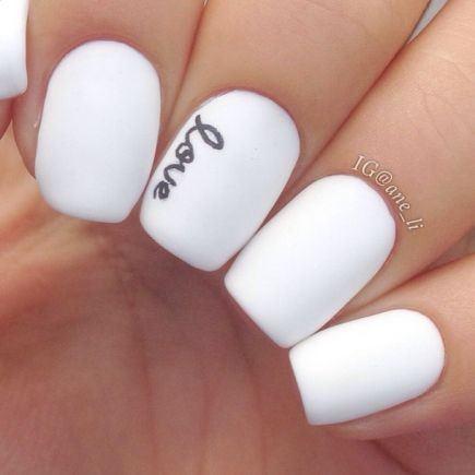 Love - Fingernail Word art