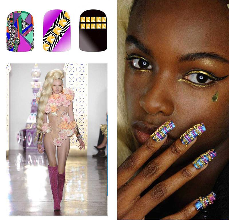 Nail Trends S S 2015 Fingernails2go