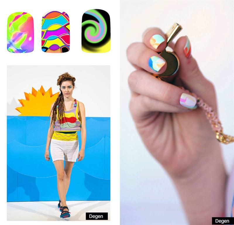 Nail Trends S S 2015 Fingernails2go