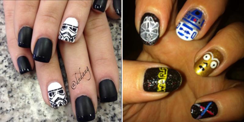 starwars nail art